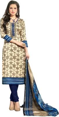 Inddus Cotton Printed Salwar Suit Dupatta Material