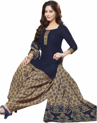 Jevi Prints Cotton Printed, Solid Salwar Suit Dupatta Material(Un-stitched) at flipkart