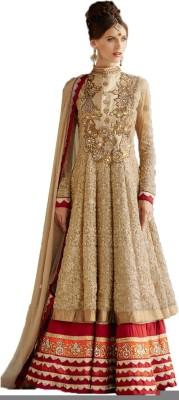 Idealshoppy1 Net Embroidered Salwar Suit Dupatta Material