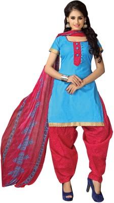 Hitansh Cotton Printed Salwar Suit Dupatta Material