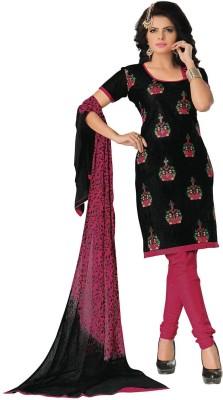 Baa Creation Cotton Embroidered Salwar Suit Dupatta Material