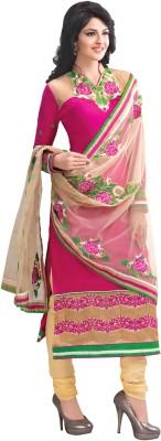 Khoobee Cotton Self Design, Embroidered Salwar Suit Dupatta Material