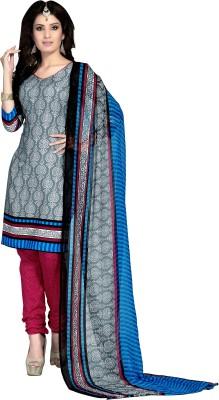 Jiya Cotton Self Design, Printed Salwar Suit Dupatta Material