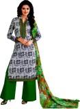 Yati Cotton Geometric Print Salwar Suit ...