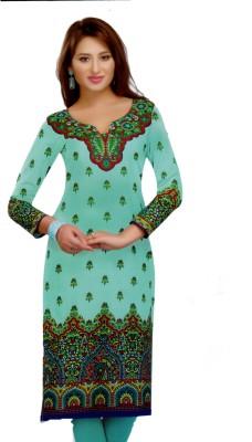 Queens Cotton Printed Kurti Fabric