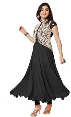 Aahira Georgette Self Design Dress/Top Material