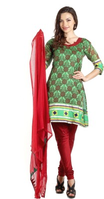 Aaboli Synthetic Printed Dress/Top Material