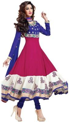 Fidubi Georgette Embroidered Salwar Suit Dupatta Material