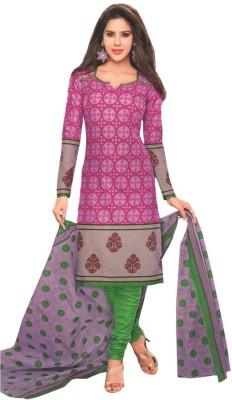 Chatri Fashions Cotton Printed Salwar Suit Dupatta Material