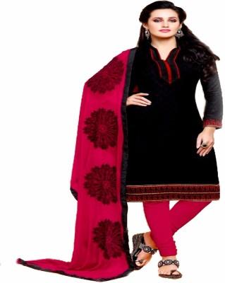 Fashioncliff Cotton Self Design Salwar Suit Material