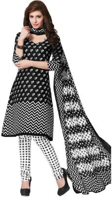 Kesar Sarees Cotton Printed Salwar Suit Dupatta Material