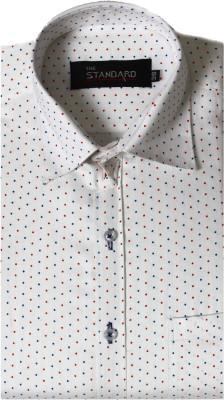 The Standard Cotton Polka Print Shirt Fabric