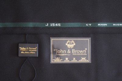 John & Brown Polyester, Viscose Woven Trouser Fabric, Suit Fabric