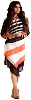 Vandv Shop Georgette Self Design Kurti Fabric