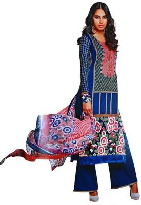 Mansi Fabrics Cotton Self Design Salwar Suit Dupatta Material
