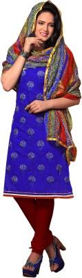 Khoobee Chanderi Self Design Dress/Top Material