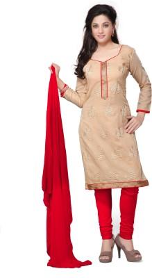 Vibes Chanderi Self Design Salwar Suit Dupatta Material