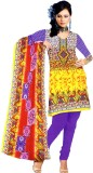 Grahcjows Creations Cotton Printed Salwa...