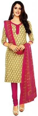 AzyFabrics Cotton Printed Salwar Suit Dupatta Material
