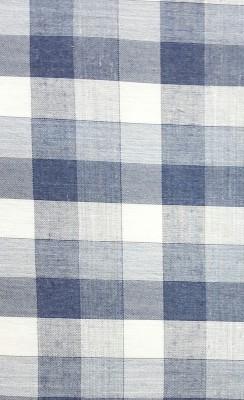 Nirvan Cotton Polyester Blend Checkered Shirt Fabric