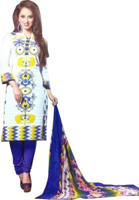 Yogideal Cotton Printed Salwar Suit Dupatta Material