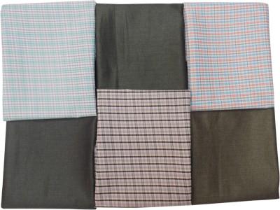 Suncity Gwalior Polyester Checkered Shirt & Trouser Fabric