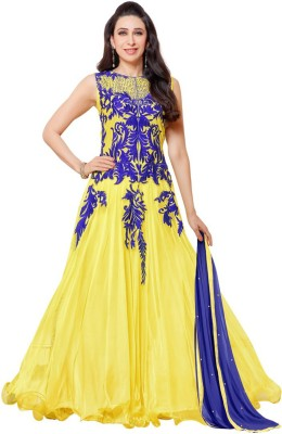 MF Retail Georgette Self Design Dress/Top Material