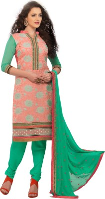 BanoRani Jacquard Embroidered Dress/Top Material