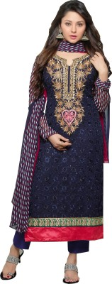 Fashion Forever Georgette Self Design Salwar Suit Dupatta Material