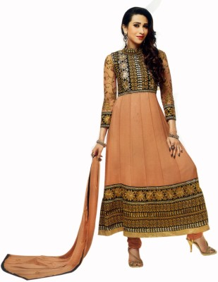 Sunaina Synthetic Self Design Salwar Suit Dupatta Material