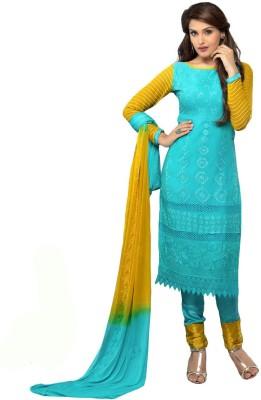 Harikrishn Chiffon Embroidered Salwar Suit Dupatta Material