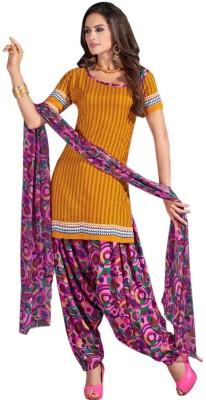 Parisha Chiffon, Crepe Floral Print Salwar Suit Dupatta Material