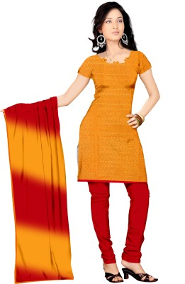 Parchayee Synthetic Printed Salwar Suit Dupatta Material