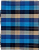 fans Cotton Checkered Shirt Fabric (Un-s...