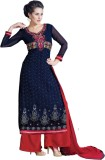 Laroyal Georgette Embroidered Salwar Sui...