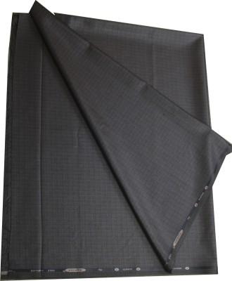 Kundan Viscose, Polyester Checkered Trouser Fabric