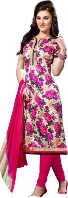 Fabliva Silk Printed Suit Fabric