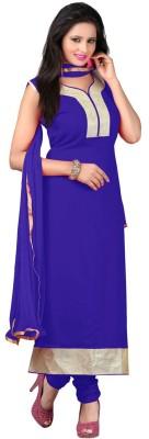 Suitevilla Georgette Embroidered Salwar Suit Dupatta Material