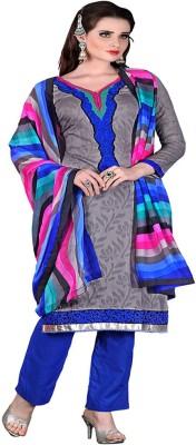 Online Fashion Marts Cotton Printed Salwar Suit Dupatta Material