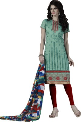 Price Bet Chanderi Printed Dress/Top Material