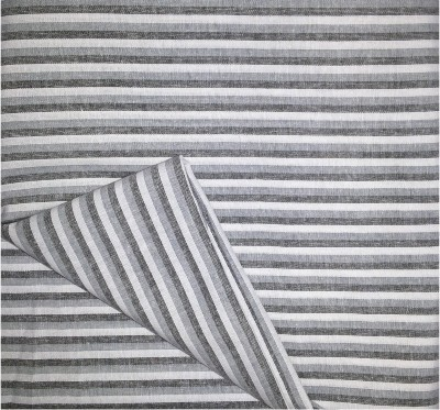 Prakasam Cotton Cotton Linen Blend Striped Multi-purpose Fabric(Un-stitched)