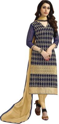 Bapa Sitaram Fashion Chanderi Printed Dress/Top Material
