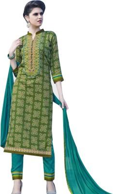 TAJ BOUTIQUE Cotton Printed Salwar Suit Dupatta Material