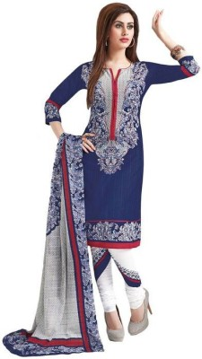 Aarvi Fashions Cotton Printed Salwar Suit Dupatta Material