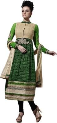 De Marca Cotton Embroidered Salwar Suit Dupatta Material