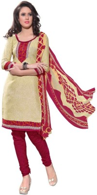 Diva Divine Cotton Self Design Salwar Suit Dupatta Material