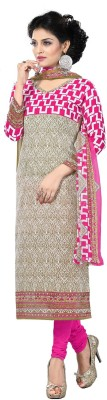 Kashish Lifestyle Cotton Printed Salwar Suit Dupatta Material