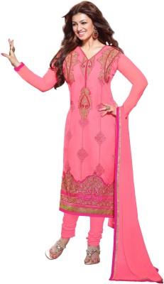 Shree Vardhman Georgette Embroidered Salwar Suit Dupatta Material
