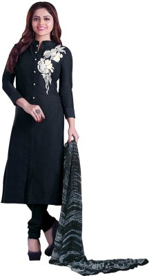 Sati Cotton Embroidered Salwar Suit Dupatta Material