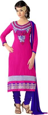 Fabdeal Cotton Self Design Salwar Suit Dupatta Material